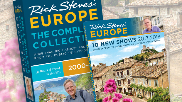 Rick Steves' Europe: Complete Collection Box Set + 10 New Shows 2017–2018 DVD Set