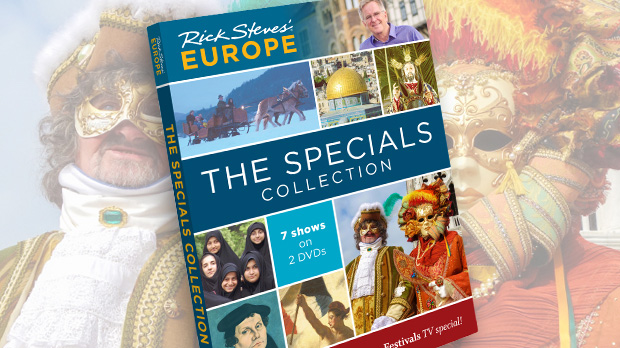 Rick Steves' Europe: The Specials Collection DVD Set