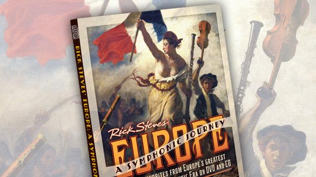 Rick Steves' Europe: A Symphonic Journey DVD + CD