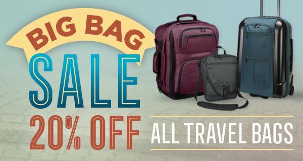 Travel Luggage Sale!