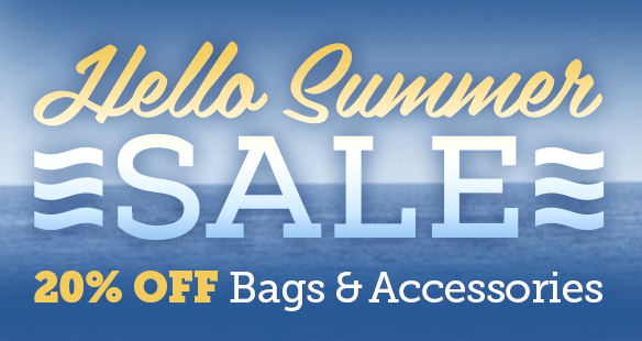 20% Off Bags & Accessories - Hello Summer Sale