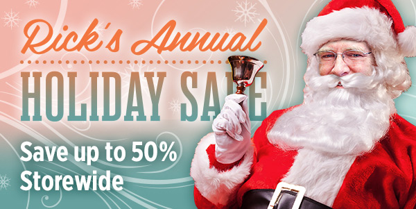 Save up to 50% storewide - Holiday Sale